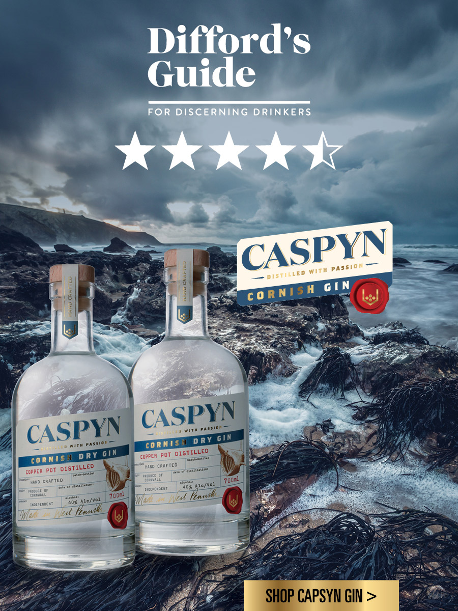 Caspyn Cornish Dry Gin - Distilled With Passion