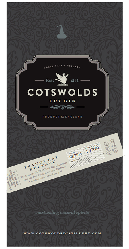 Cotswolds Dry Gin says...